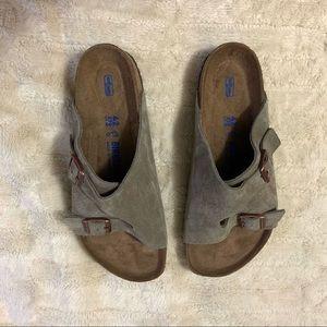 Birkenstock Zurich Suede Sandals